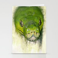 monty python Stationery Cards featuring Python Art by ChiaraLily
