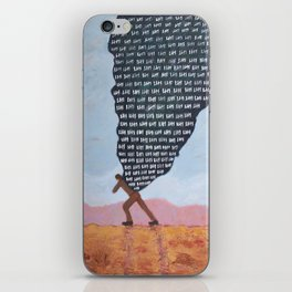 Heavy (No One Comes Home Alone) iPhone Skin