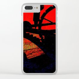 Tempus Fugit Clear iPhone Case