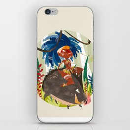 Caipora DIVA iPhone Skin