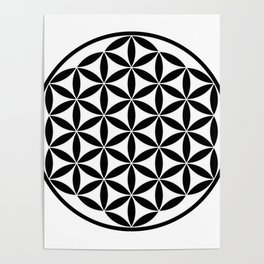 Pure Energy The Flower of Life Poster