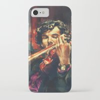 benedict iPhone & iPod Cases featuring Virtuoso by Alice X. Zhang