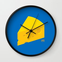 Swiss Cheese Wall Clock