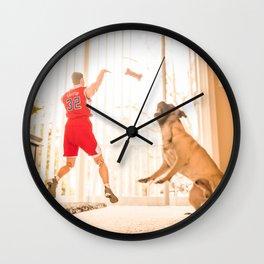 I Can't Miss Wall Clock