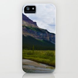 Tangle Ridge in the Columbia Icefields area of Jasper National Park, Canada iPhone Case