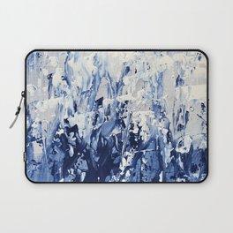 Blue Iris Rising Laptop Sleeve
