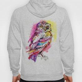 Neon Northern Pygmy Owl Hoody