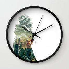 Wandering Wall Clock
