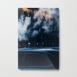 Smoke Building New York City (Color) Metal Print