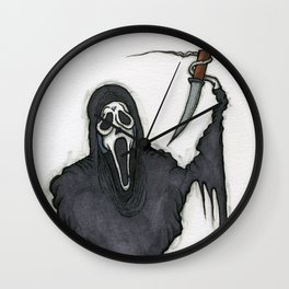 Ghostface Wall Clock