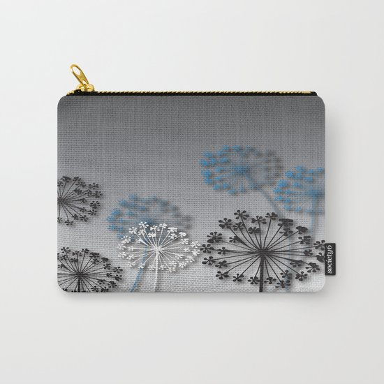 Mysterious Flowers Carry-All Pouch