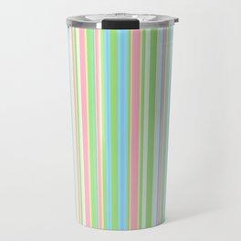 Stripe obsession color mode #2 Travel Mug