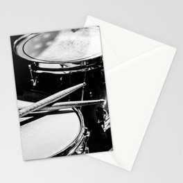 drums music aesthetic close up elegant mood art photography  Stationery Cards