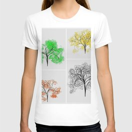 Spring, Summer, Fall, and Winter Trees T-shirt