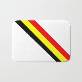 Flag of belgium 4 belgian,belge,belgique,bruxelles,Tintin,Simenon,Europe,Charleroi,Anvers,Maeterlinc Bath Mat