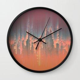 Reversible Space II Wall Clock