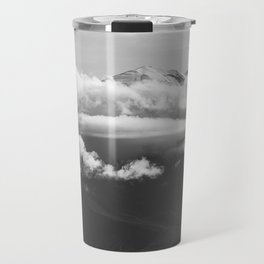 Volcano Misti Covered by Clouds Travel Mug