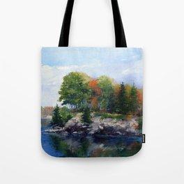 Lake Champlain Shelburne Point Tote Bag