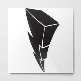PR Power Bolt Metal Print