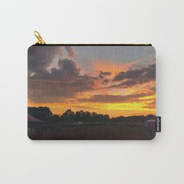 Sunset at Jubilee and the Hanger Carry-All Pouch