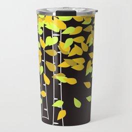 Autumn Birches Travel Mug