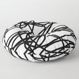 Scribble it Floor Pillow