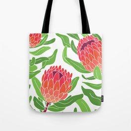 Protea Garden Tote Bag