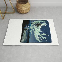 Storm Painting Rug