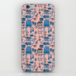 Pattern Project #17 / Bird Life iPhone Skin