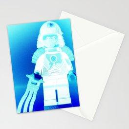 TEENAGE MUTANT NINJA TURTLES, SHREDDER CUSTOM LEGO MINIFIGURE by Chillee Wilson Stationery Cards