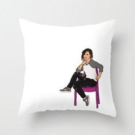 DemiLovato Throw Pillow