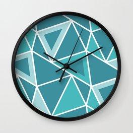 Geometric Pattern 3 Wall Clock