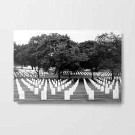 Arlington Cemetary Metal Print