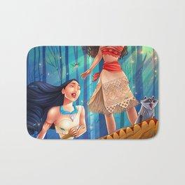 Pocahontas & Moana Bath Mat