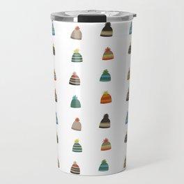 Hats for Winter Travel Mug