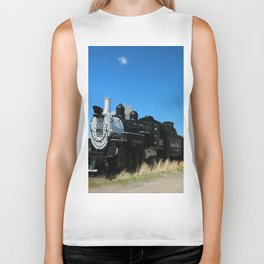 Denver & Rio Grande Steam Engine Biker Tank
