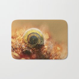 Morning impression with shell Bath Mat