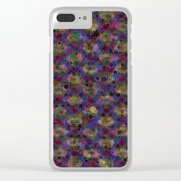 Galactic Marsh Clear iPhone Case