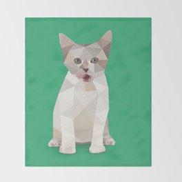 Kitten Throw Blanket