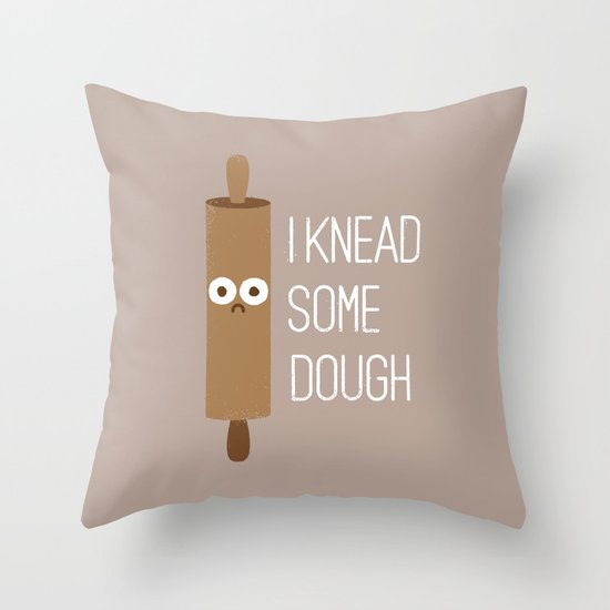 Short Bread Throw Pillow