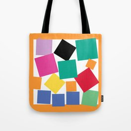 Square Elephant Tote Bag