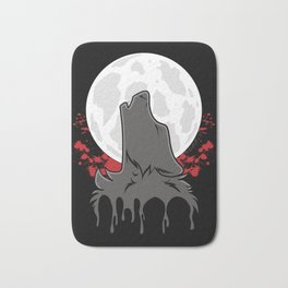 Howl at the Moon (Awoo) Bath Mat