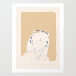 Playlist Art Print