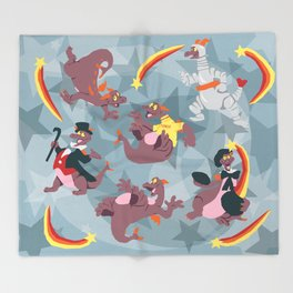 Imagination Throw Blanket