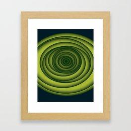 Depth Framed Art Print