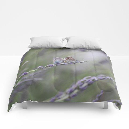 Lavender Butterflies - JUSTART © Comforters