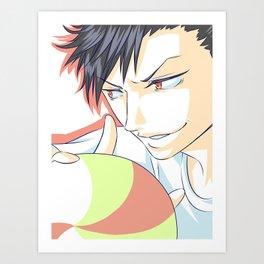 Kuroo Tetsuroo Art Print