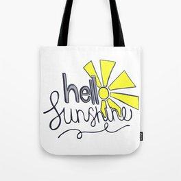 helloSunshine Tote Bag