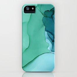Sea Ink iPhone Case