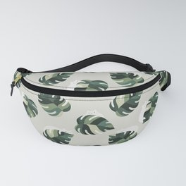 Cat and Plant Pattern 3 Fanny Pack